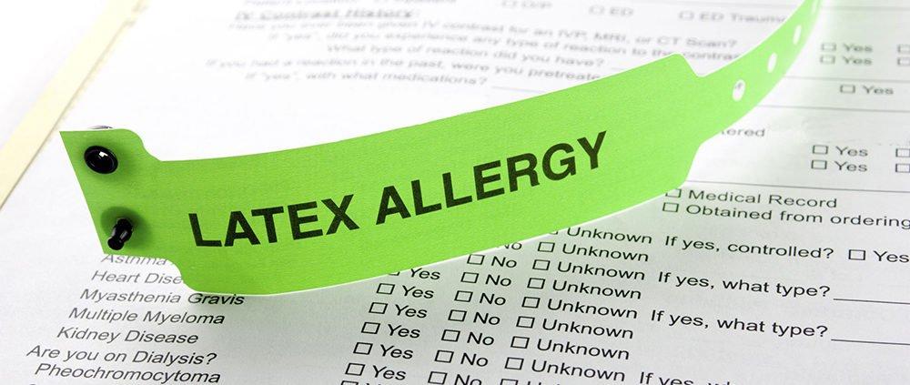 Allergia al lattice