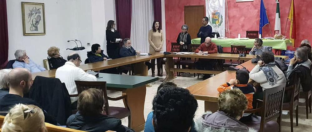 Maria Teresa D'Agostino università della Terza età Letojanni